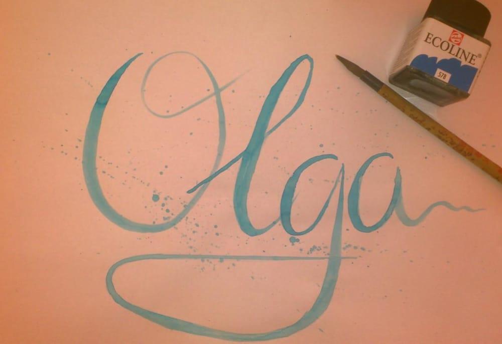 I'm Olga. - image 1 - student project