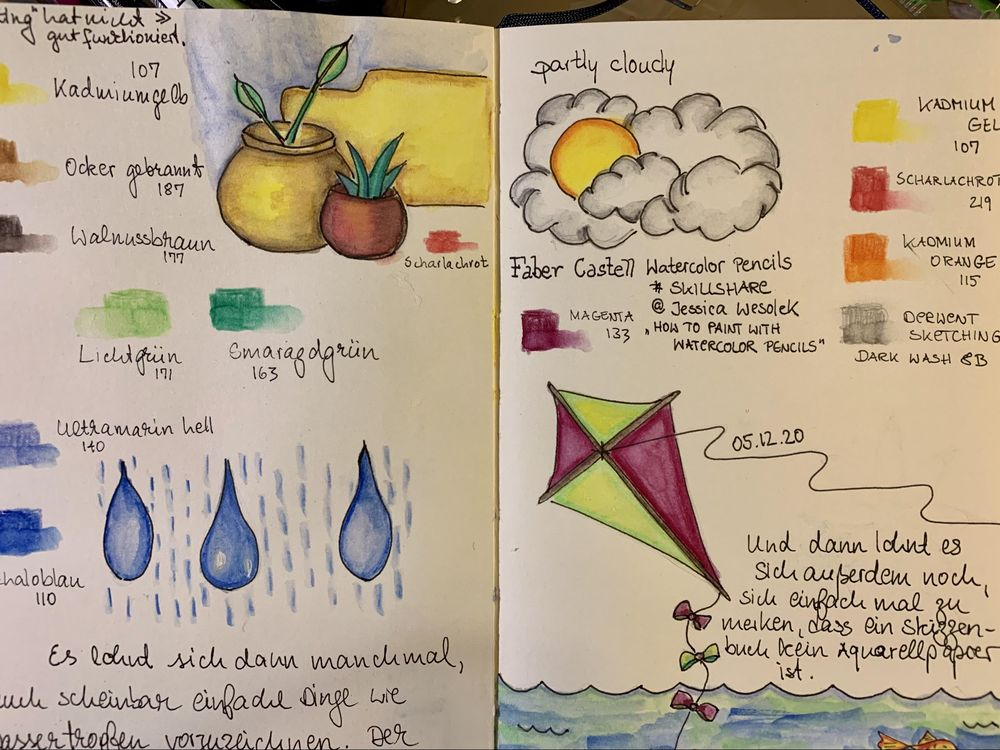 Watercolor Pencils Faber Castell - image 1 - student project