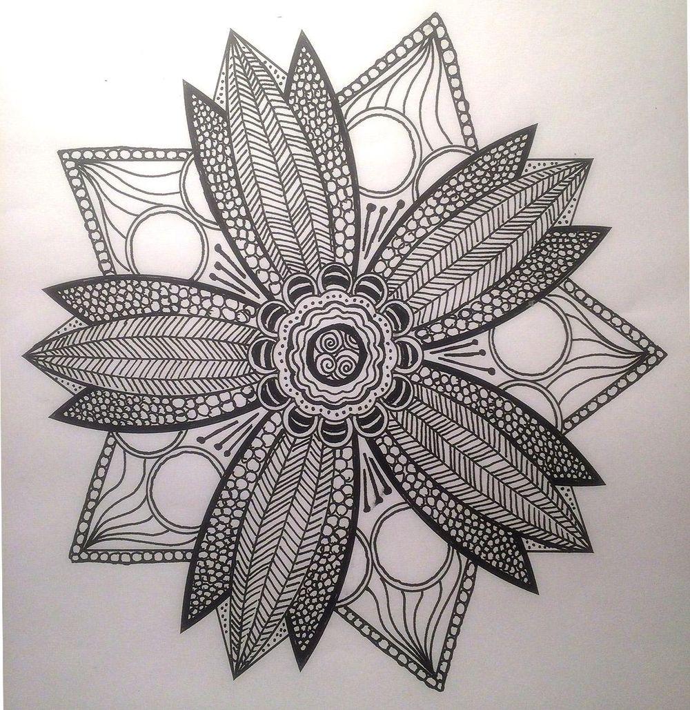 Sunshiny Star Mandala - image 1 - student project