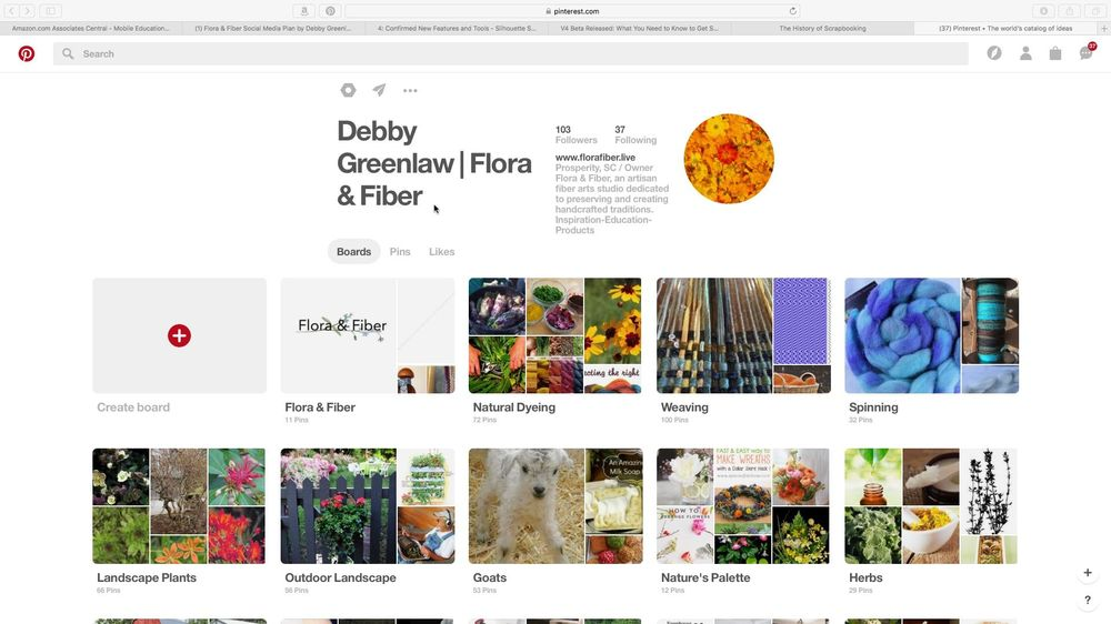 Flora & Fiber Social Media Plan - image 1 - student project