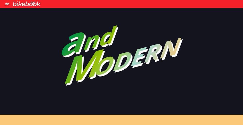 BikeBook - Web Typography Mini-site - image 5 - student project