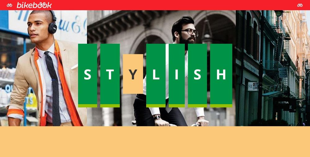 BikeBook - Web Typography Mini-site - image 3 - student project