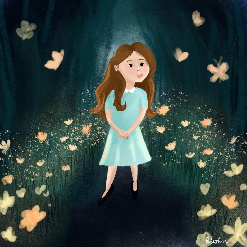Girl in magical forest - image 1 - student project