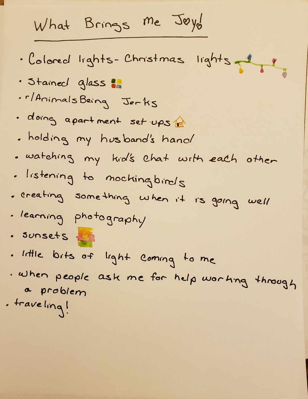 Writing for Self-Discovery Projects - image 1 - student project