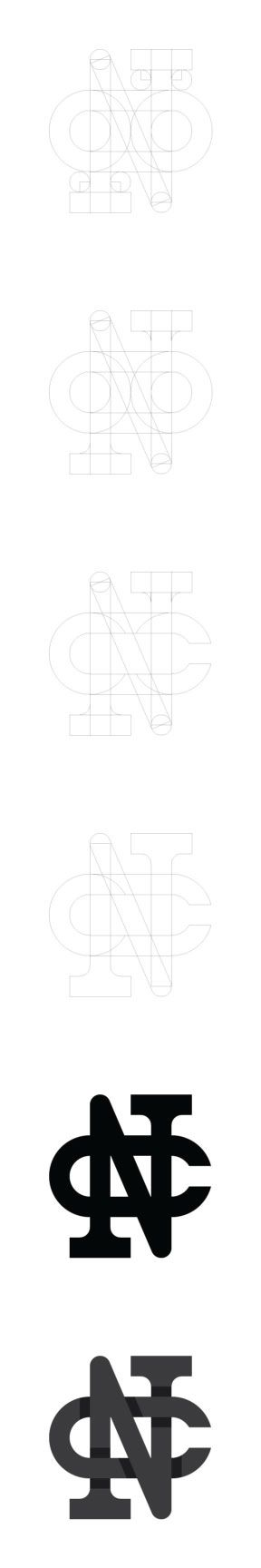 My initials in a monogram - image 1 - student project