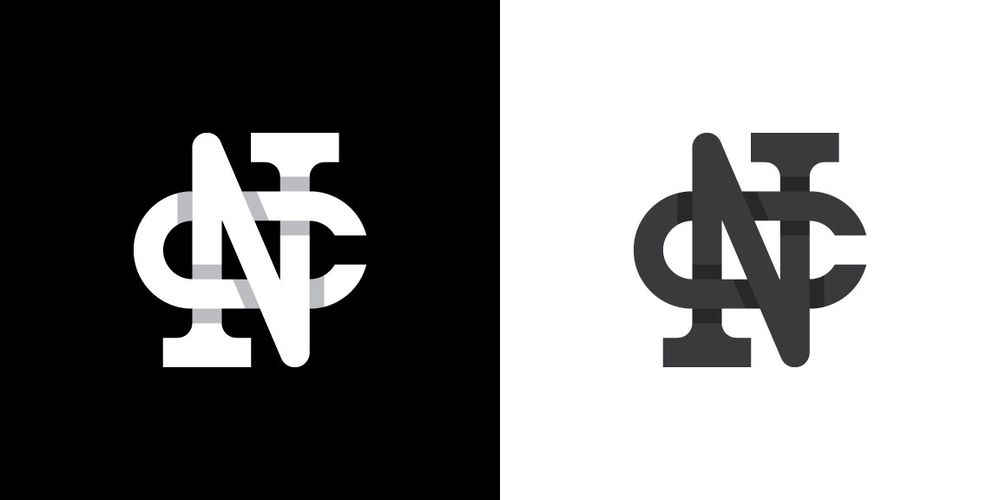 My initials in a monogram - image 3 - student project