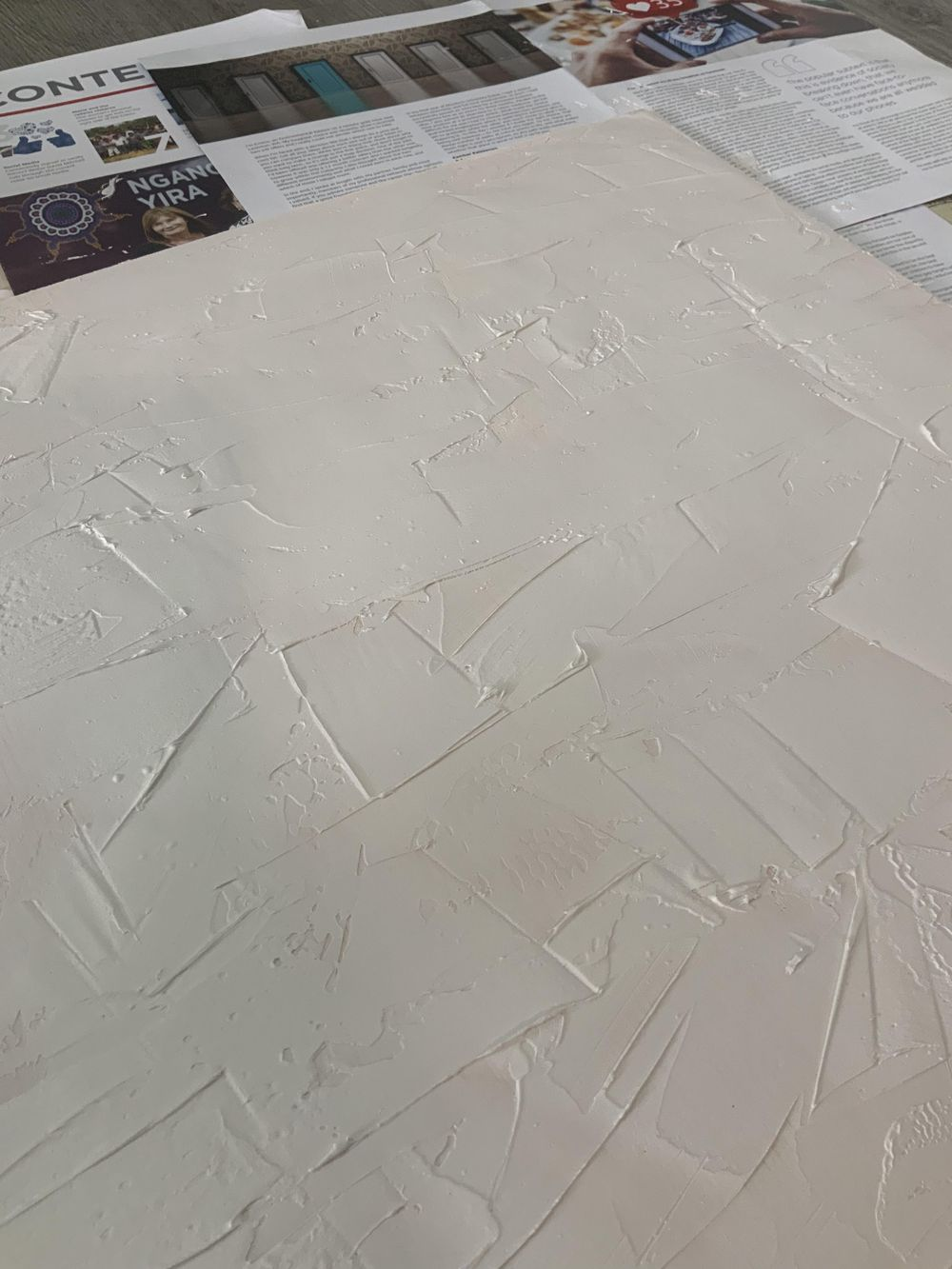 Acrylic putty board - image 2 - student project