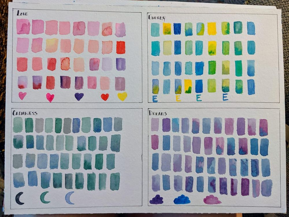 Color Mood Board - image 1 - student project