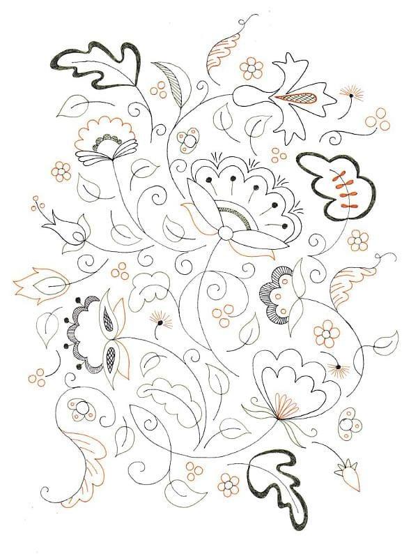 Jacobean Doodle - image 1 - student project