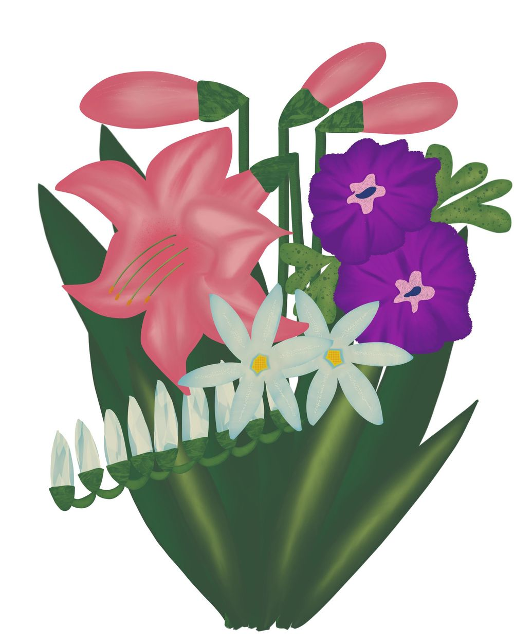 Mandy's Flowers - image 1 - student project