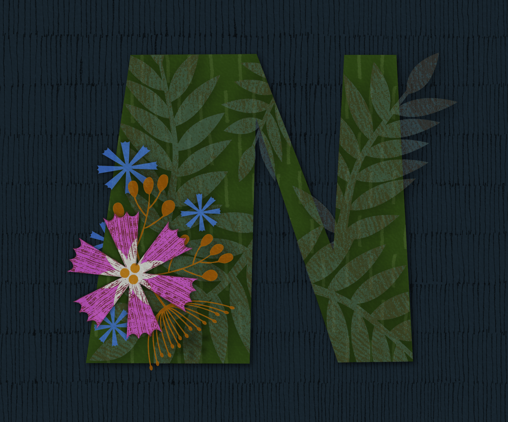 Floral layering with Affinity Designer - image 1 - student project