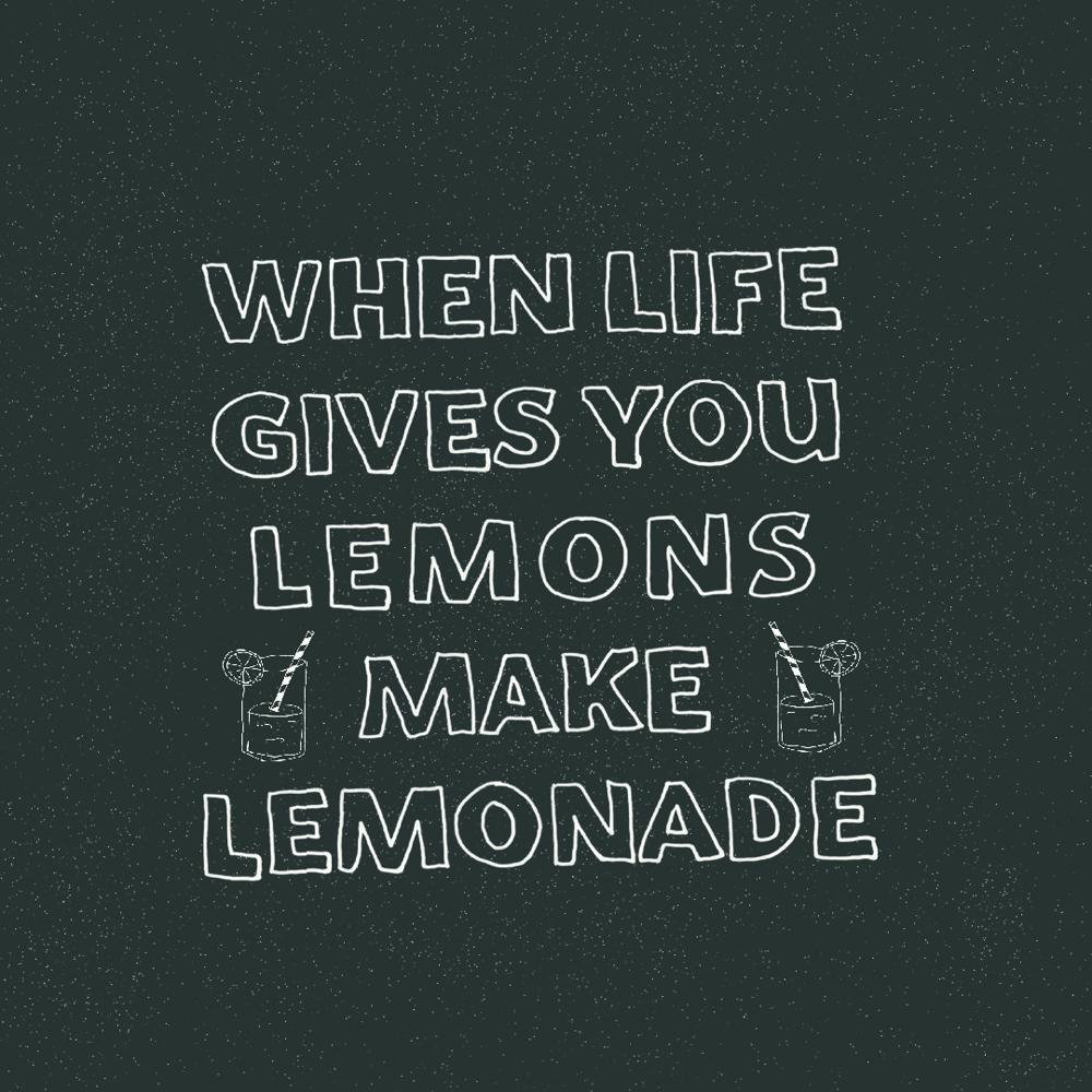When life gives you lemons make lemonade - image 2 - student project