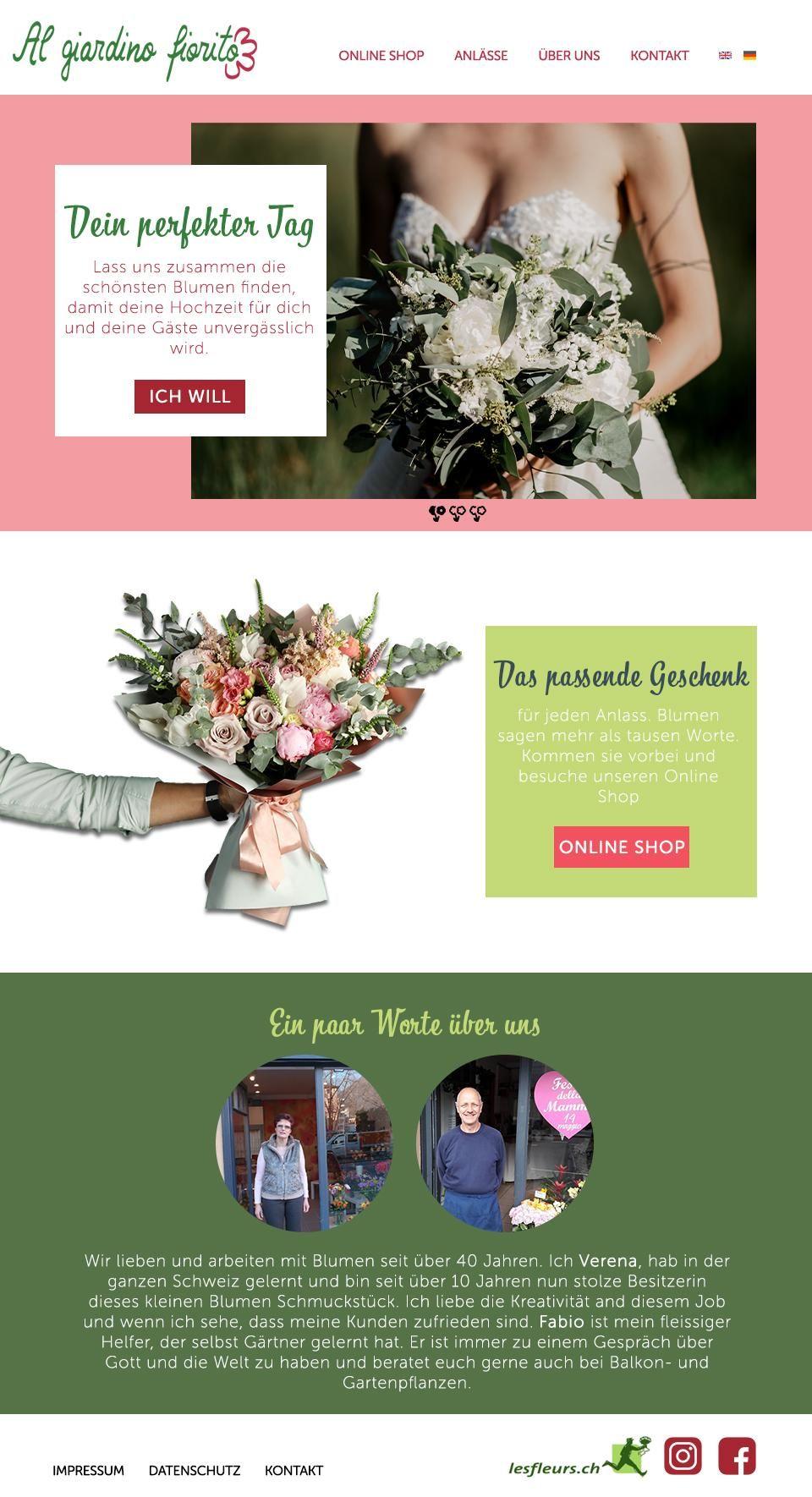 Website Flowershop - image 1 - student project