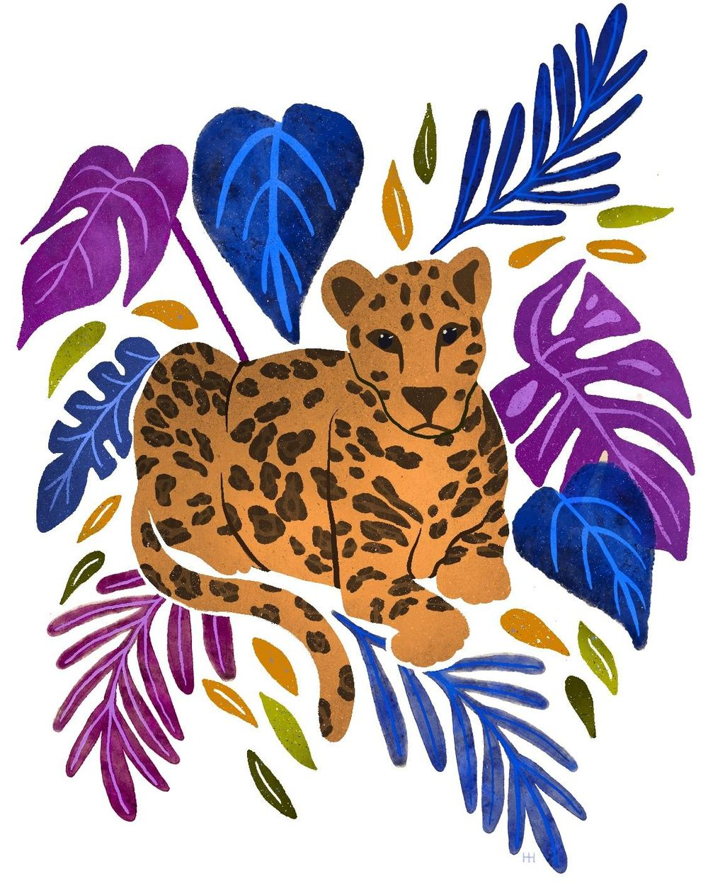 Vibrant Leopard - image 1 - student project