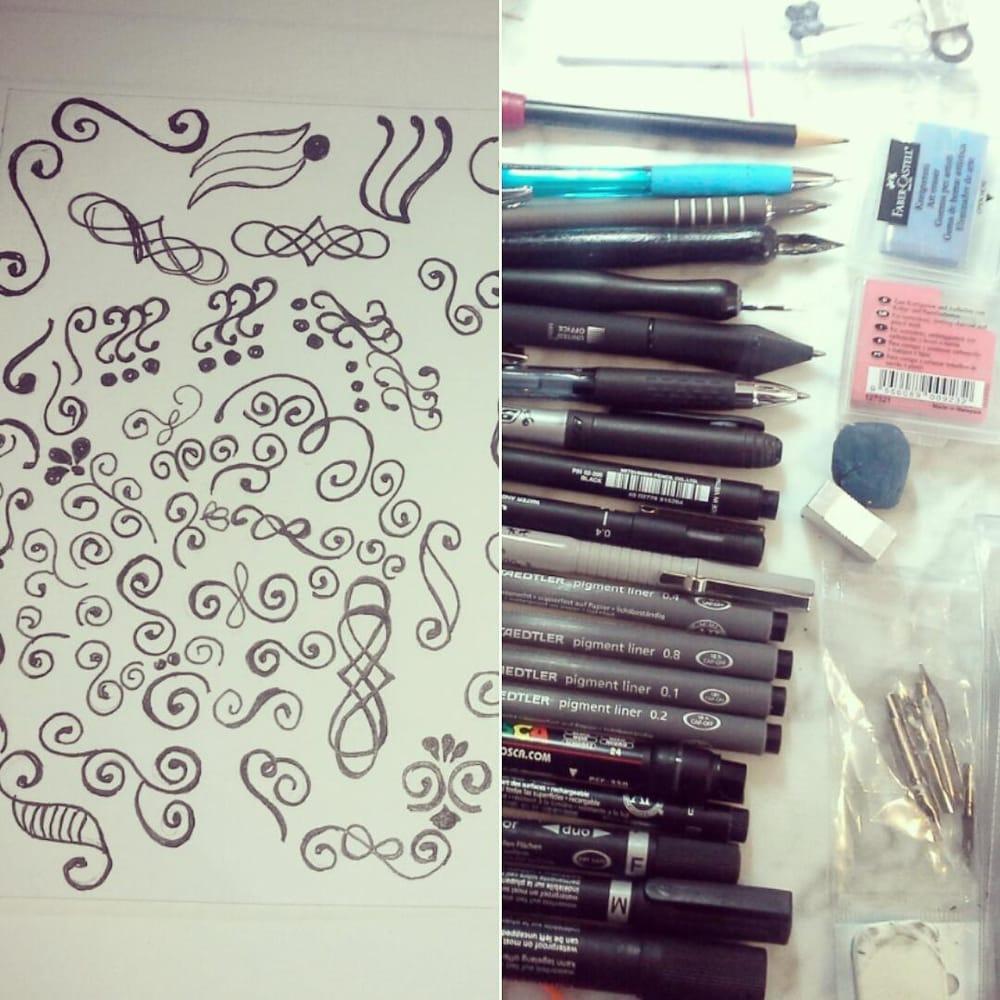 Elementos preciosos para embellecer nuestra escritura y nuestros dibujos - image 1 - student project
