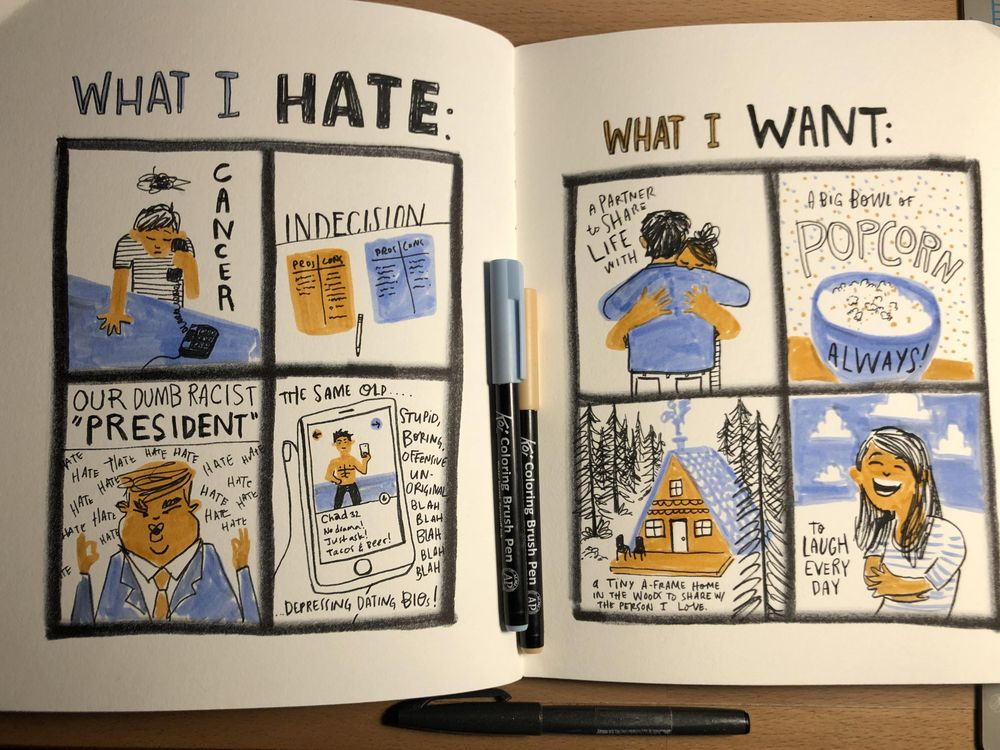 Hates & Wants - image 1 - student project