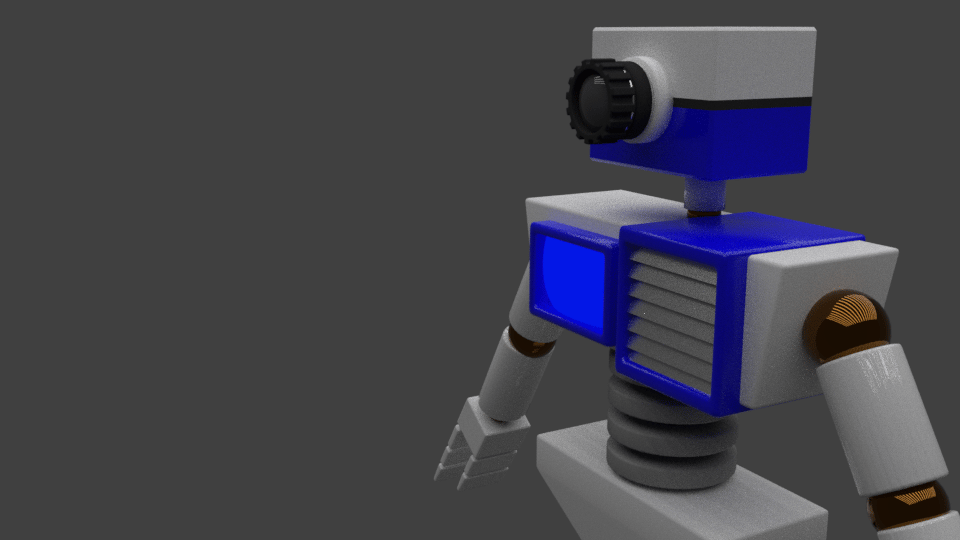 Robot Render - image 1 - student project