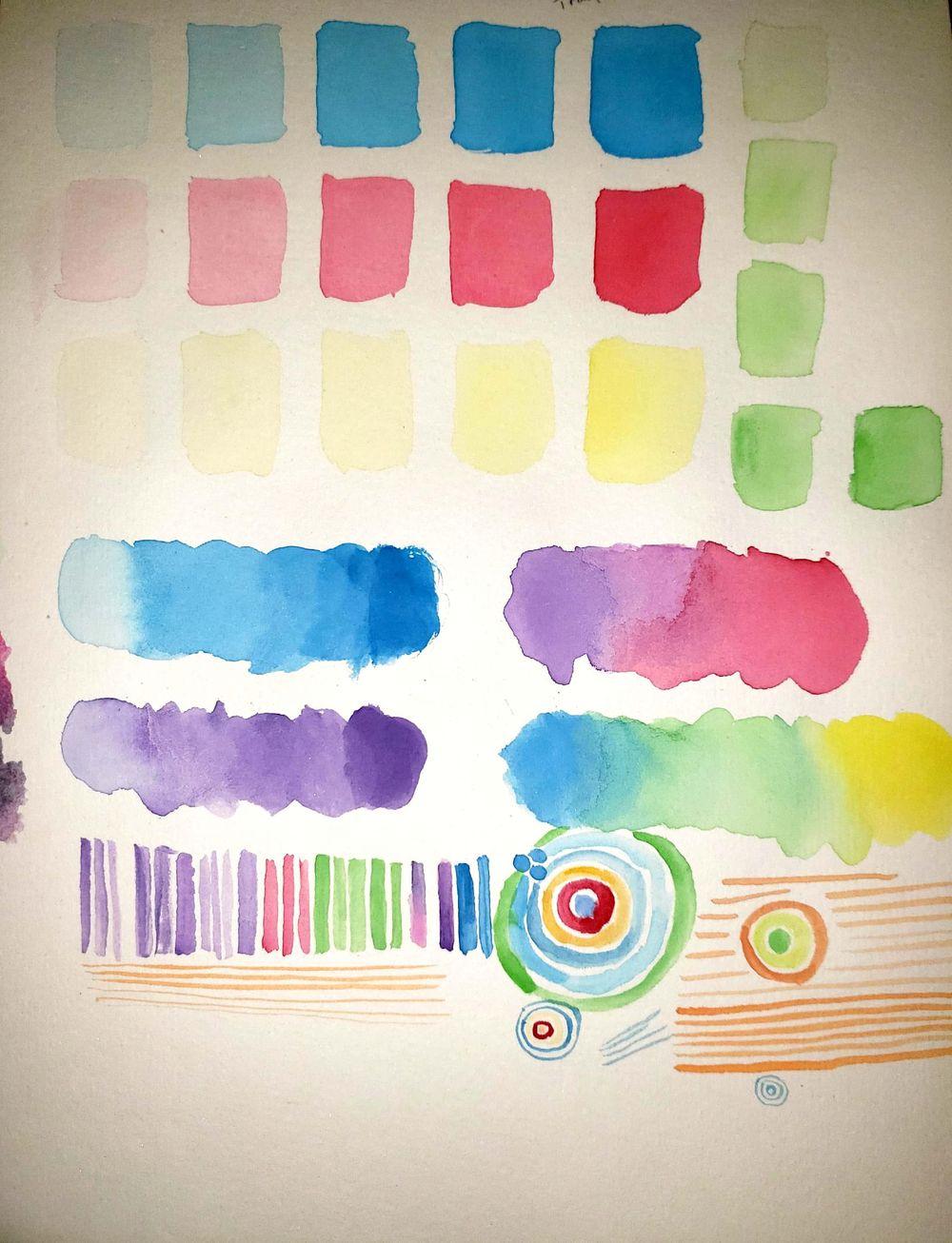 Wonderful Watercolors! - image 1 - student project