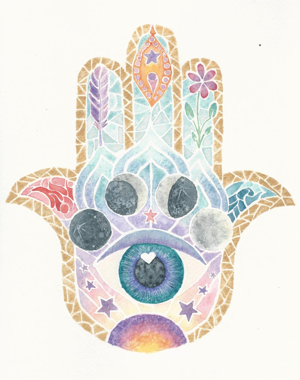 My Hamsa Hand - image 1 - student project