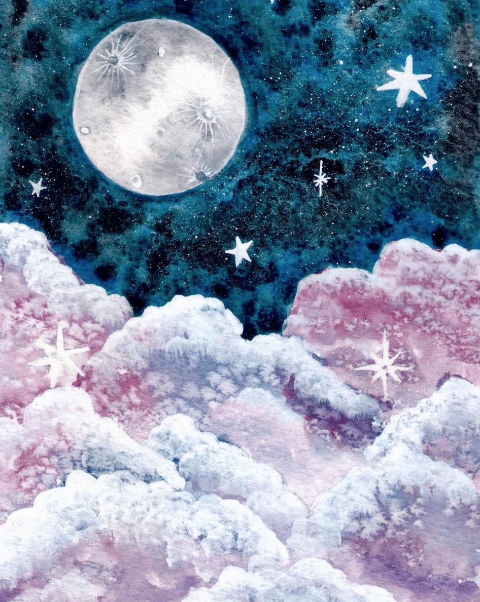 I love painting cumulus limbus ! - image 2 - student project