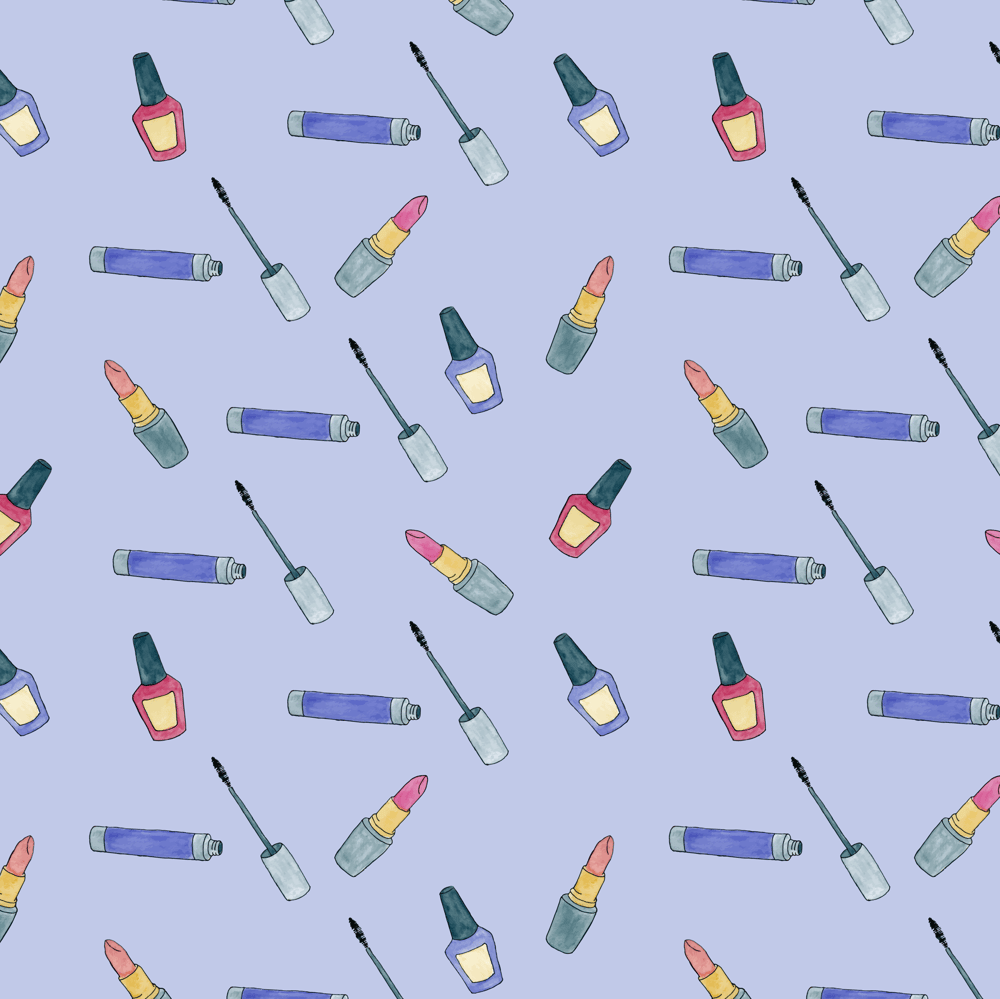 Simple Watercolor Pattern - image 4 - student project