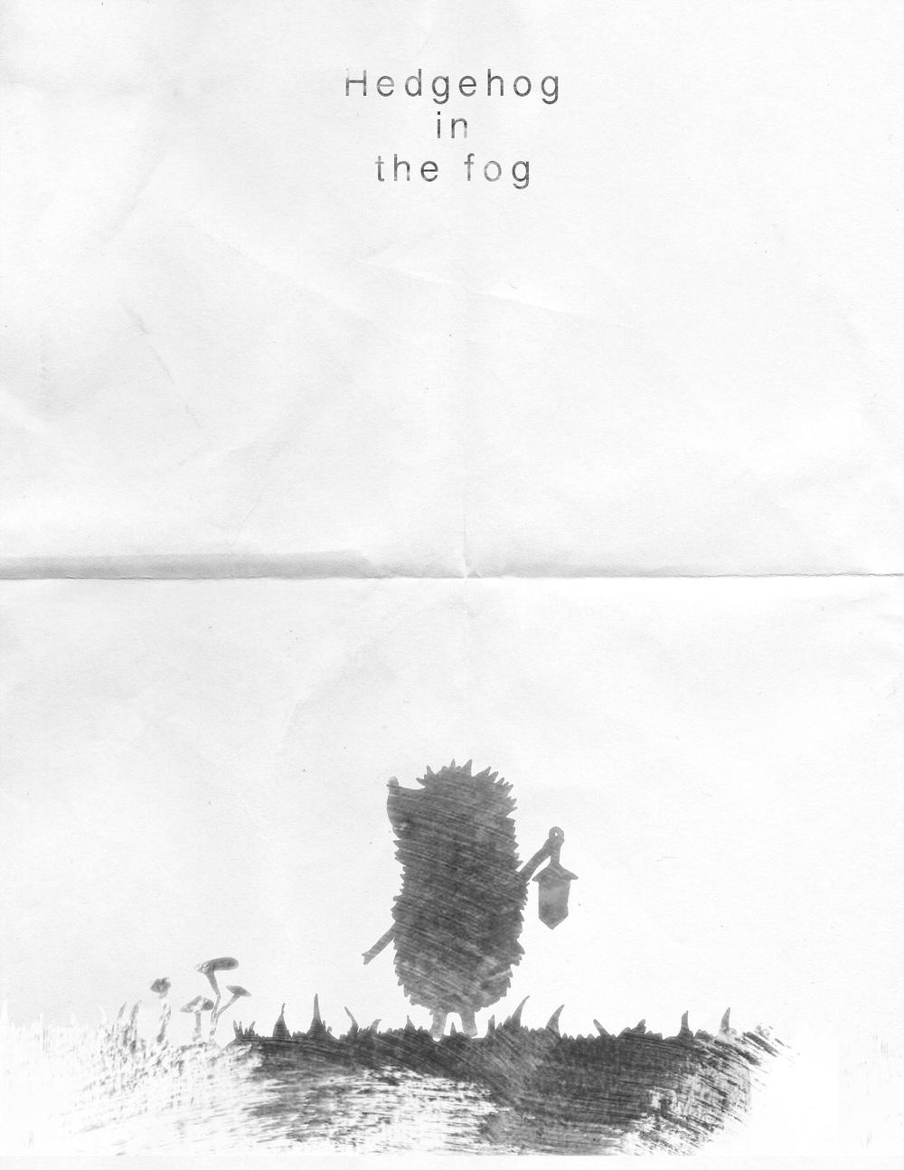 True Grit: Hedgehog in the fog - image 1 - student project