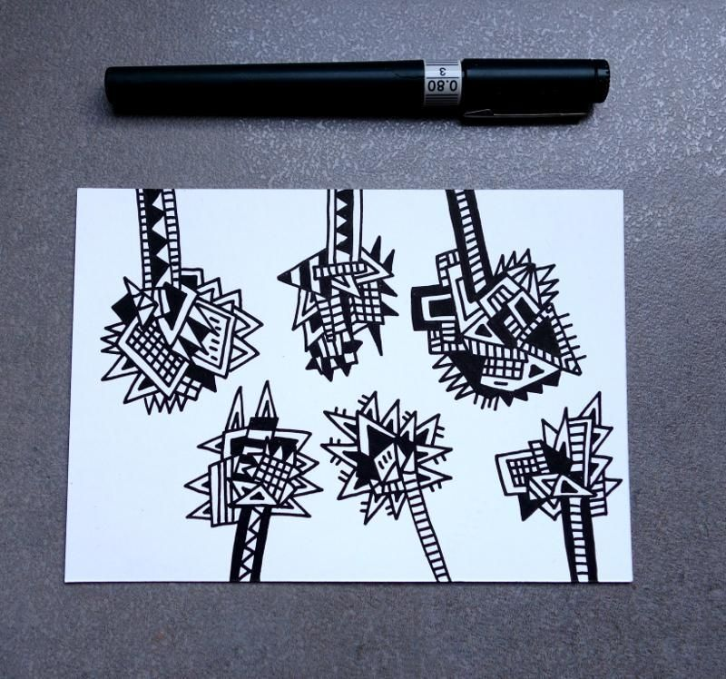 Doodle Art: Sample Project - image 6 - student project