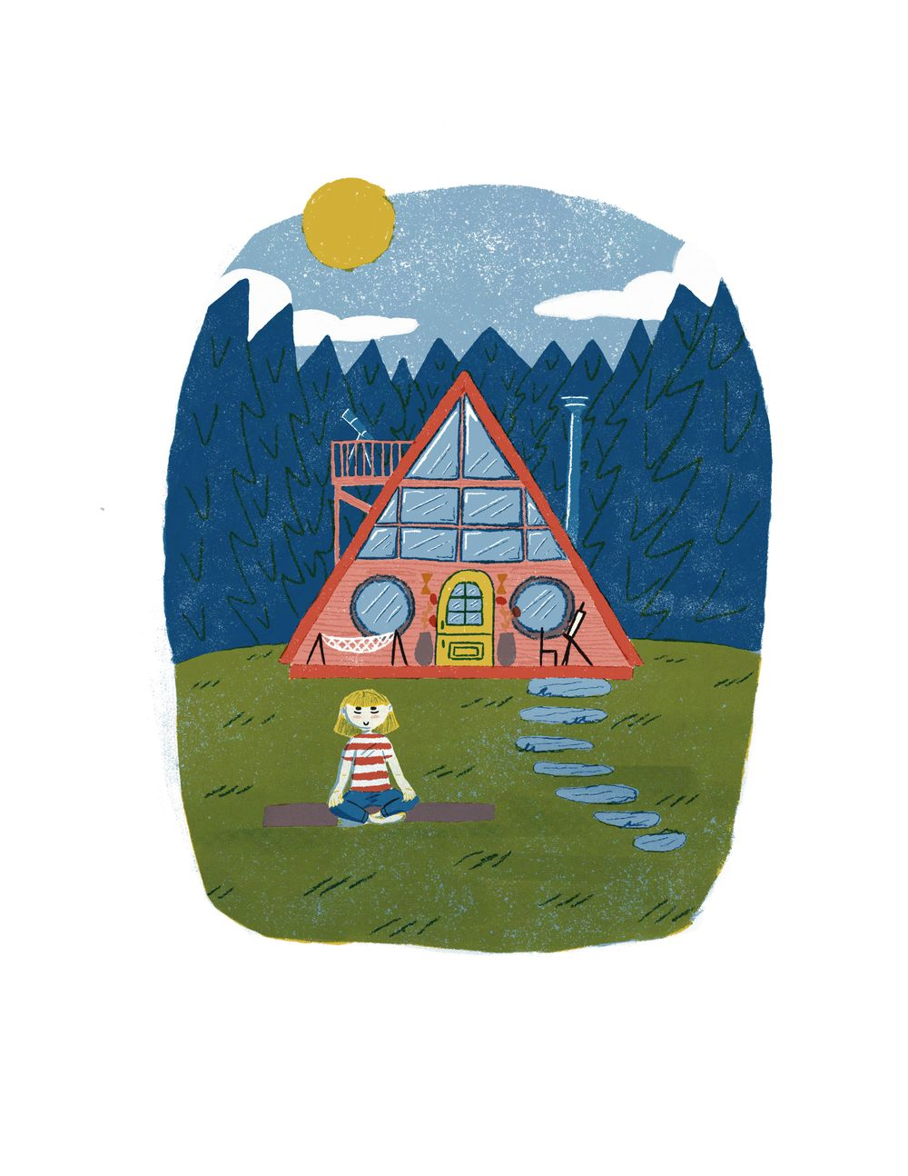 Cozy Cabin - image 1 - student project