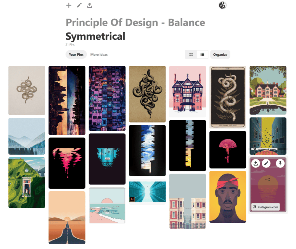 Elements and Principles of Design - image 3 - student project