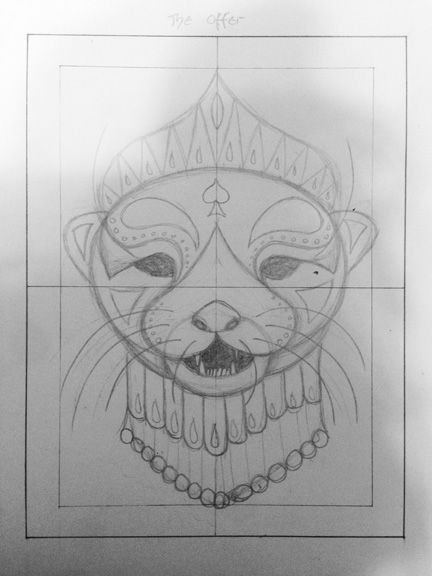 Her Majesty the Otter Queen of Spades - image 1 - student project