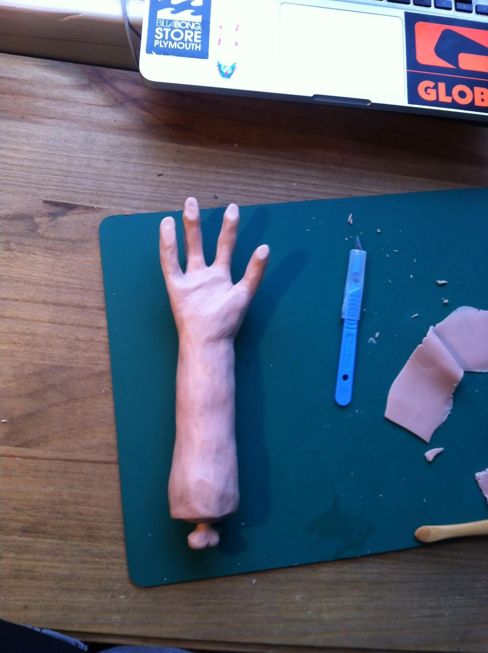 'Half Eaten Resin Arm Toy'  James Rae - image 3 - student project