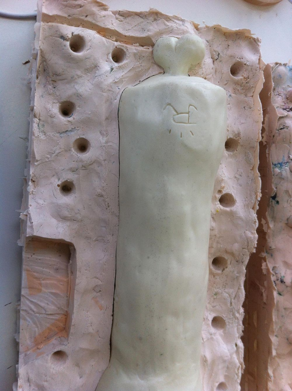 'Half Eaten Resin Arm Toy'  James Rae - image 5 - student project