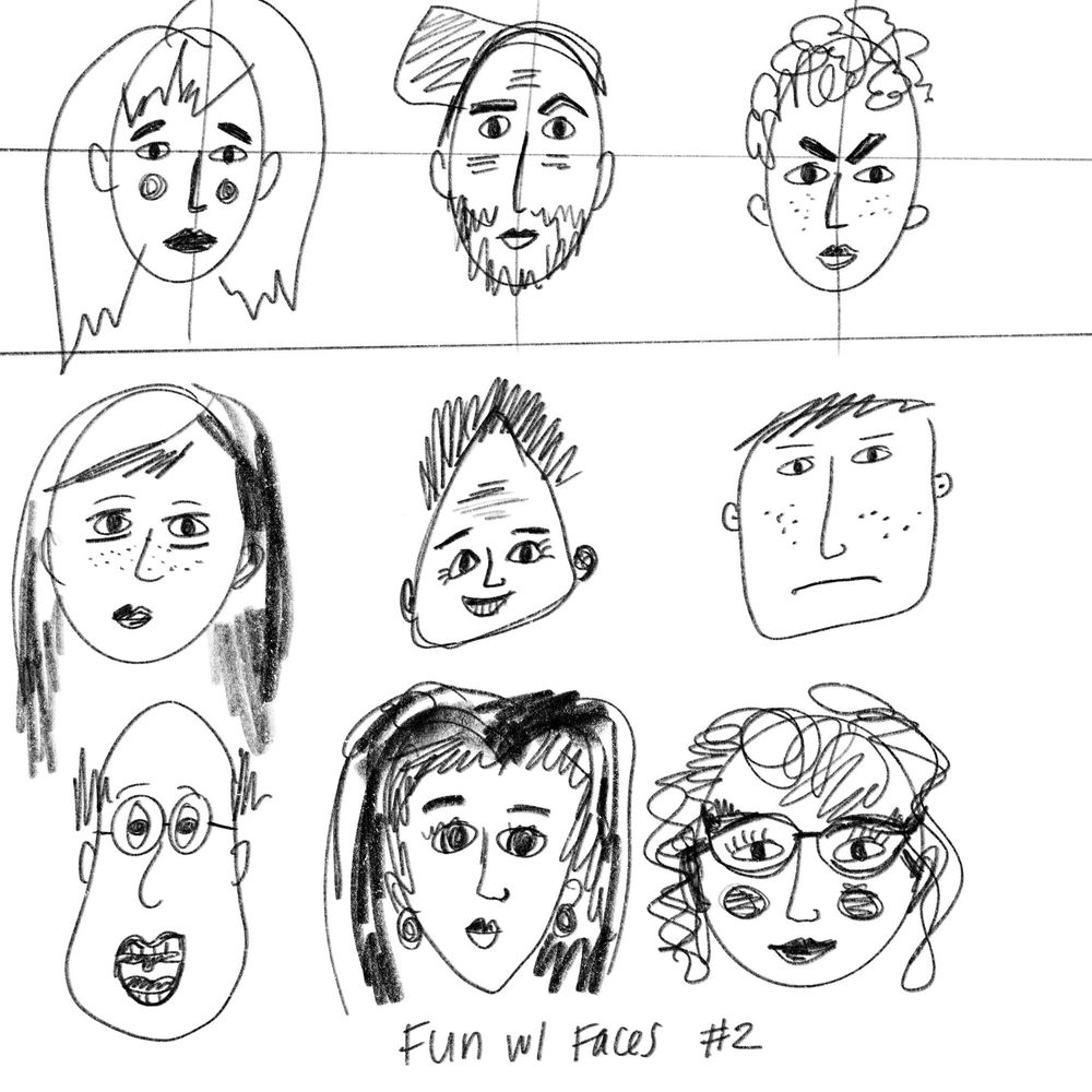Fun With Faces _ Ariel Coleman - image 2 - student project