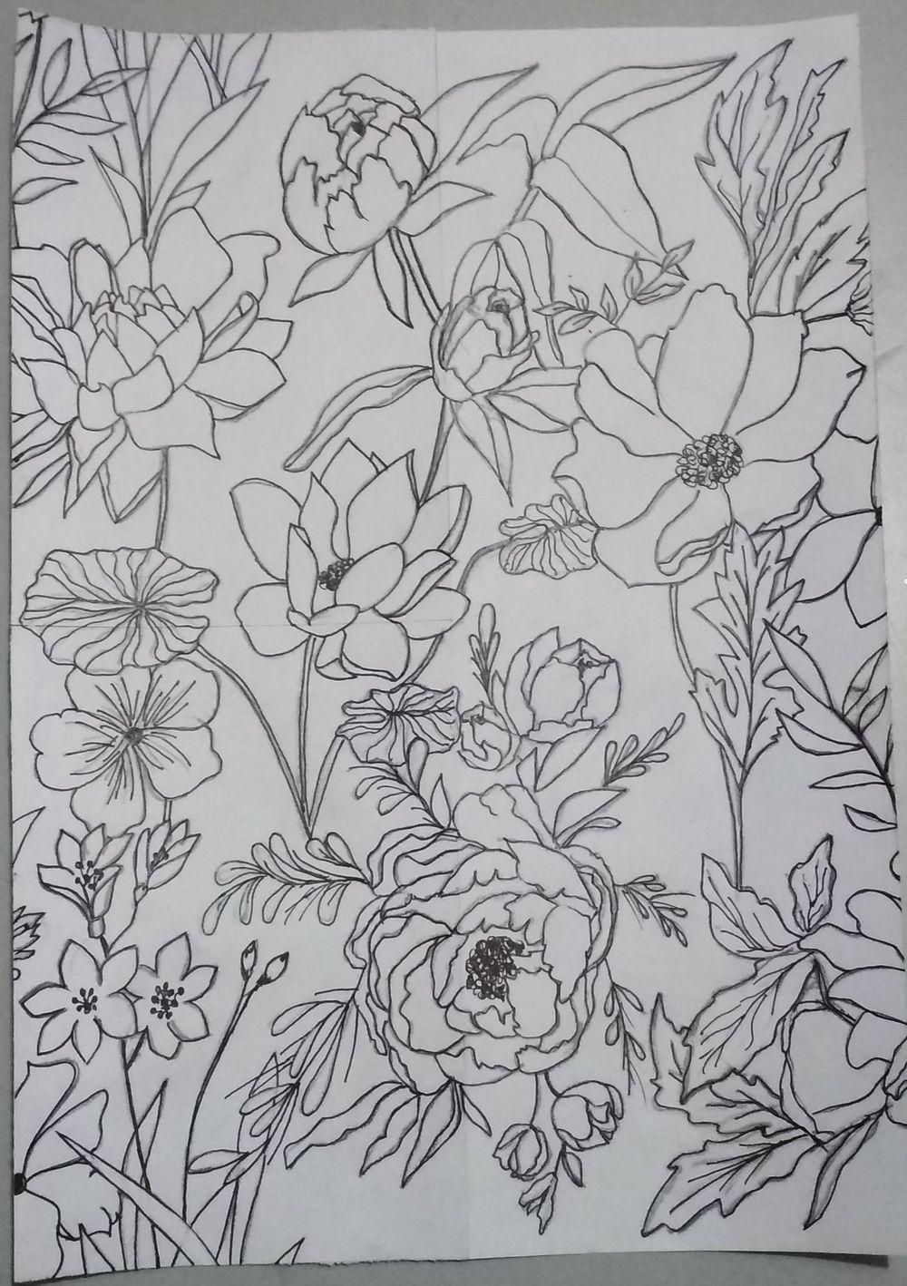 Vintage Florals - image 2 - student project