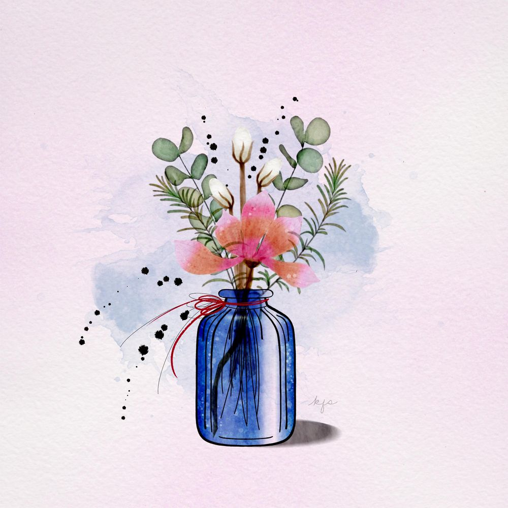 Watercolor Botanicals - image 2 - student project