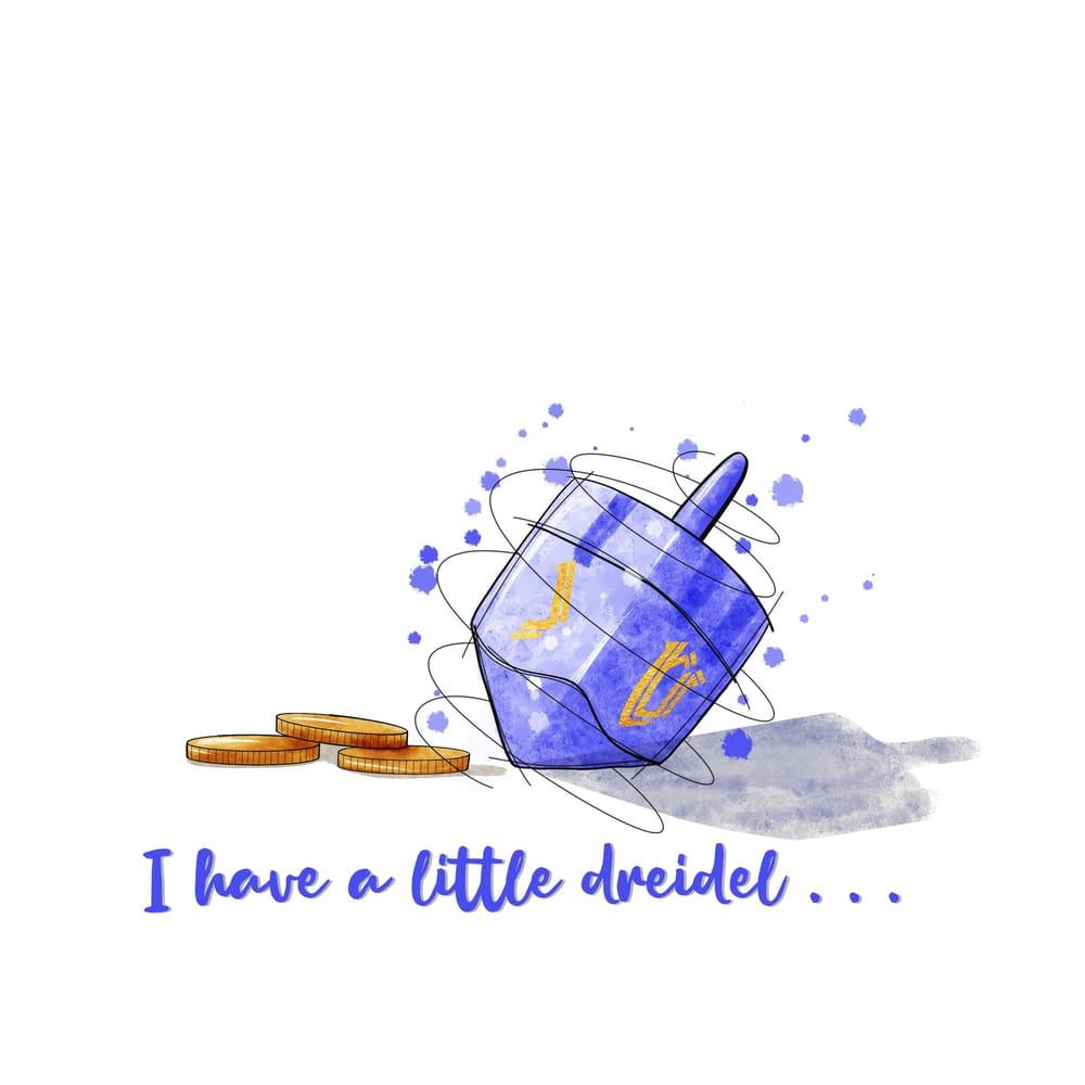 Sketchy Dreidel - image 1 - student project