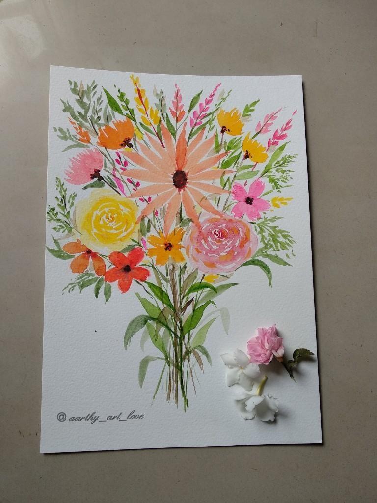 Flower boquet - image 1 - student project