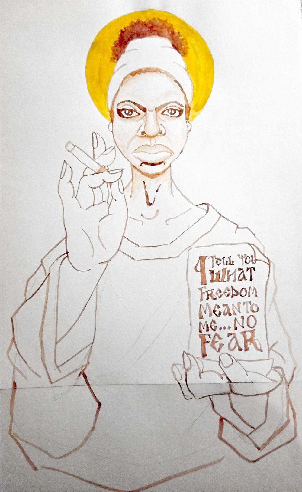 Ms. Nina Simone - image 4 - student project