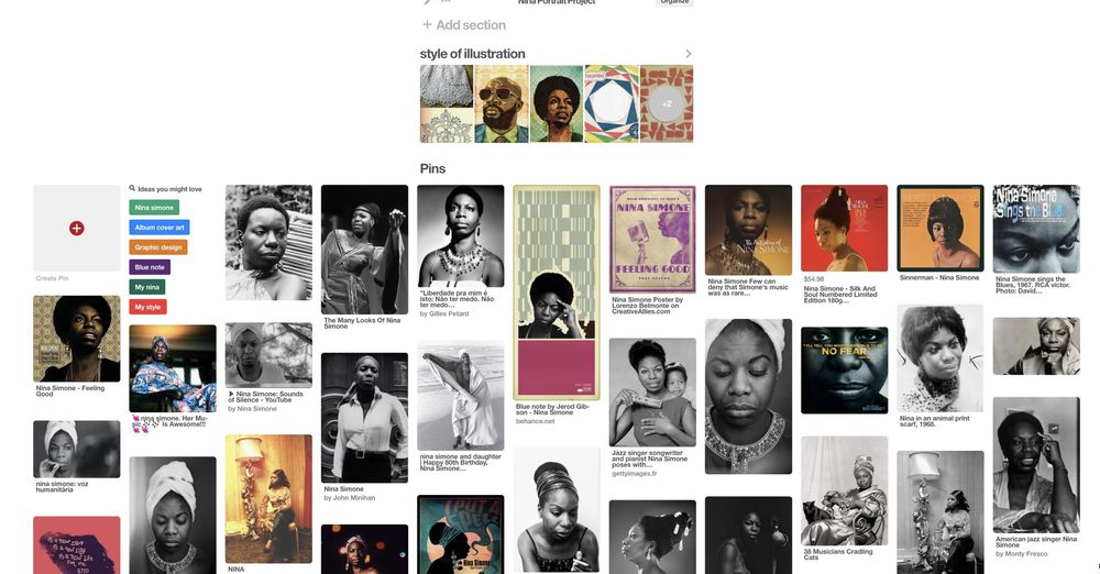 Ms. Nina Simone - image 2 - student project