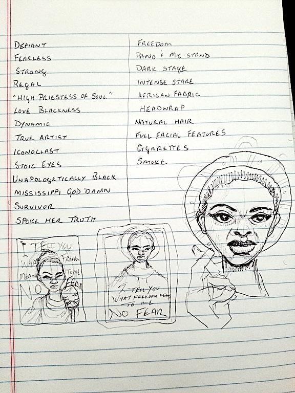 Ms. Nina Simone - image 1 - student project
