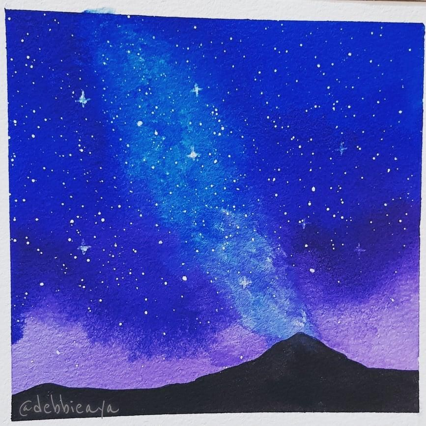 30 Day Watercolor Challenge:  Bold and Beautiful Skies - image 26 - student project