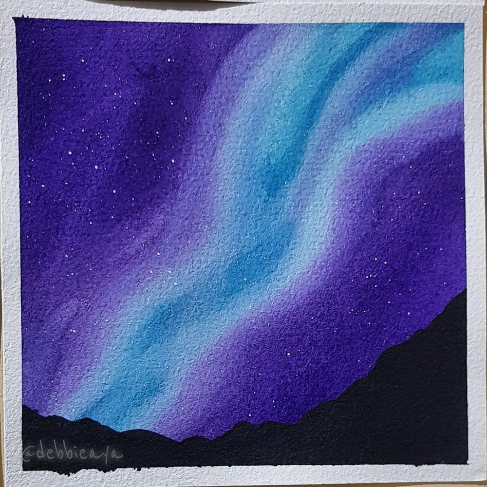 30 Day Watercolor Challenge:  Bold and Beautiful Skies - image 21 - student project