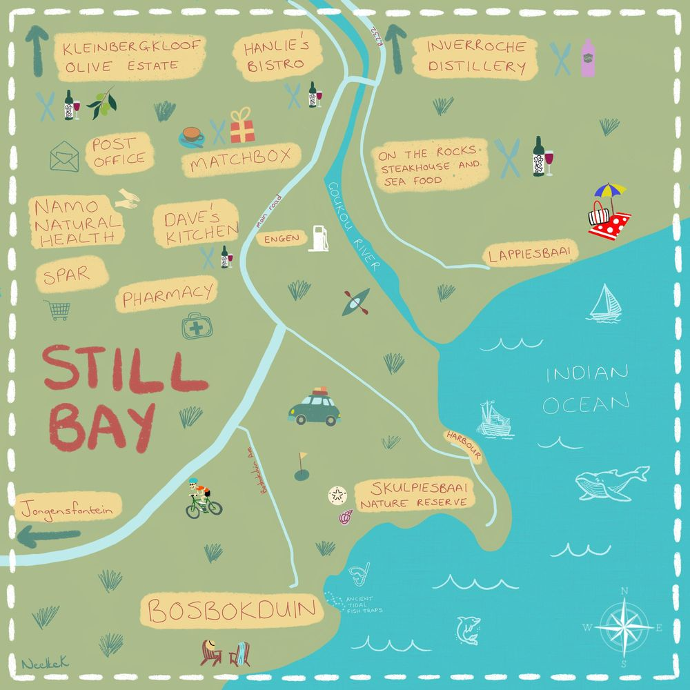 Map of Still Bay - image 2 - student project