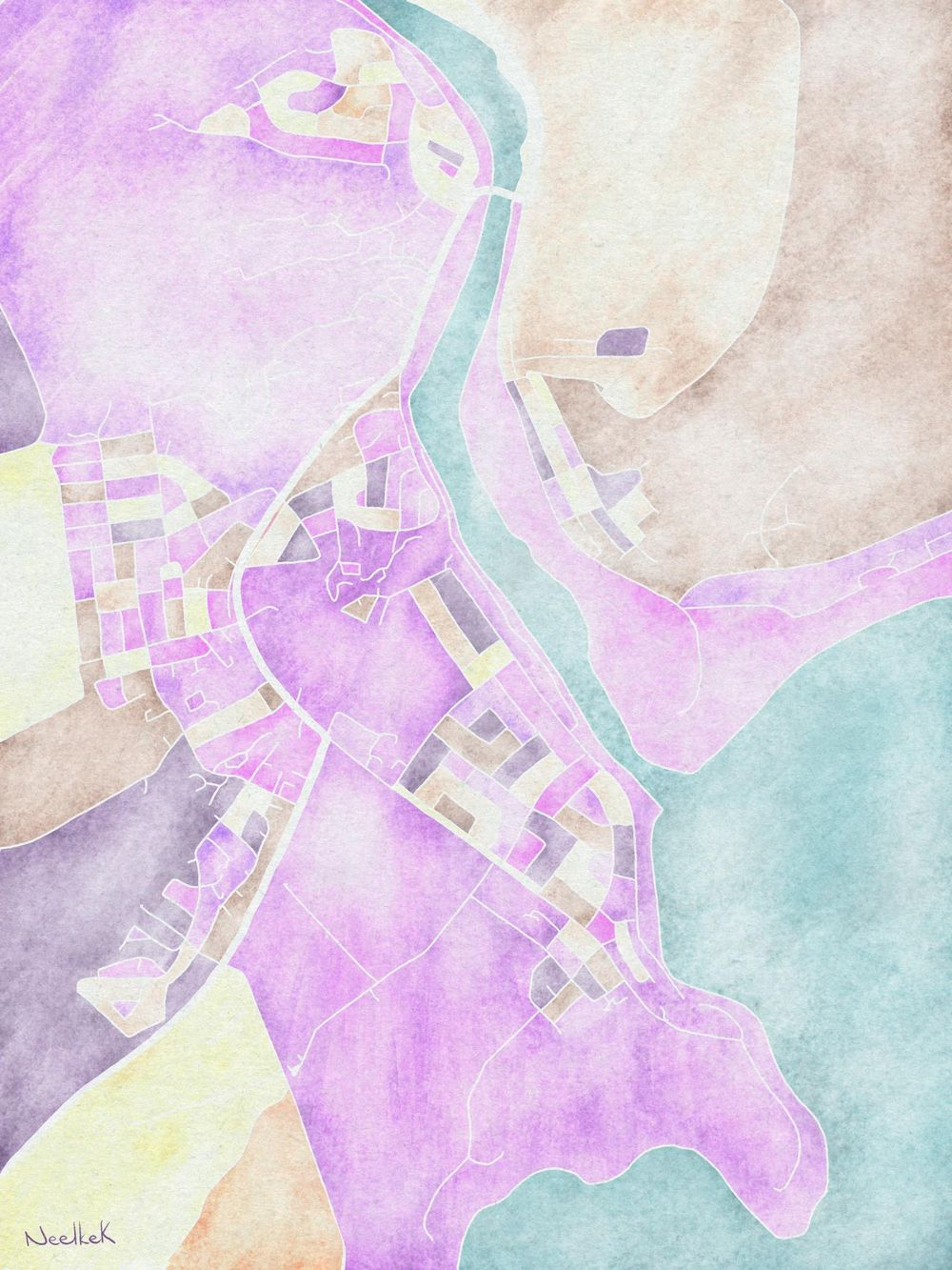 Map of Still Bay - image 1 - student project
