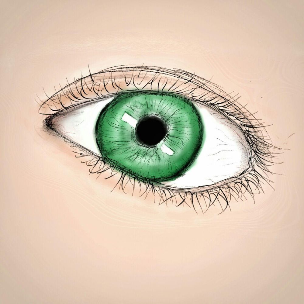 Trying to draw a somewhat realistic eye - image 1 - student project