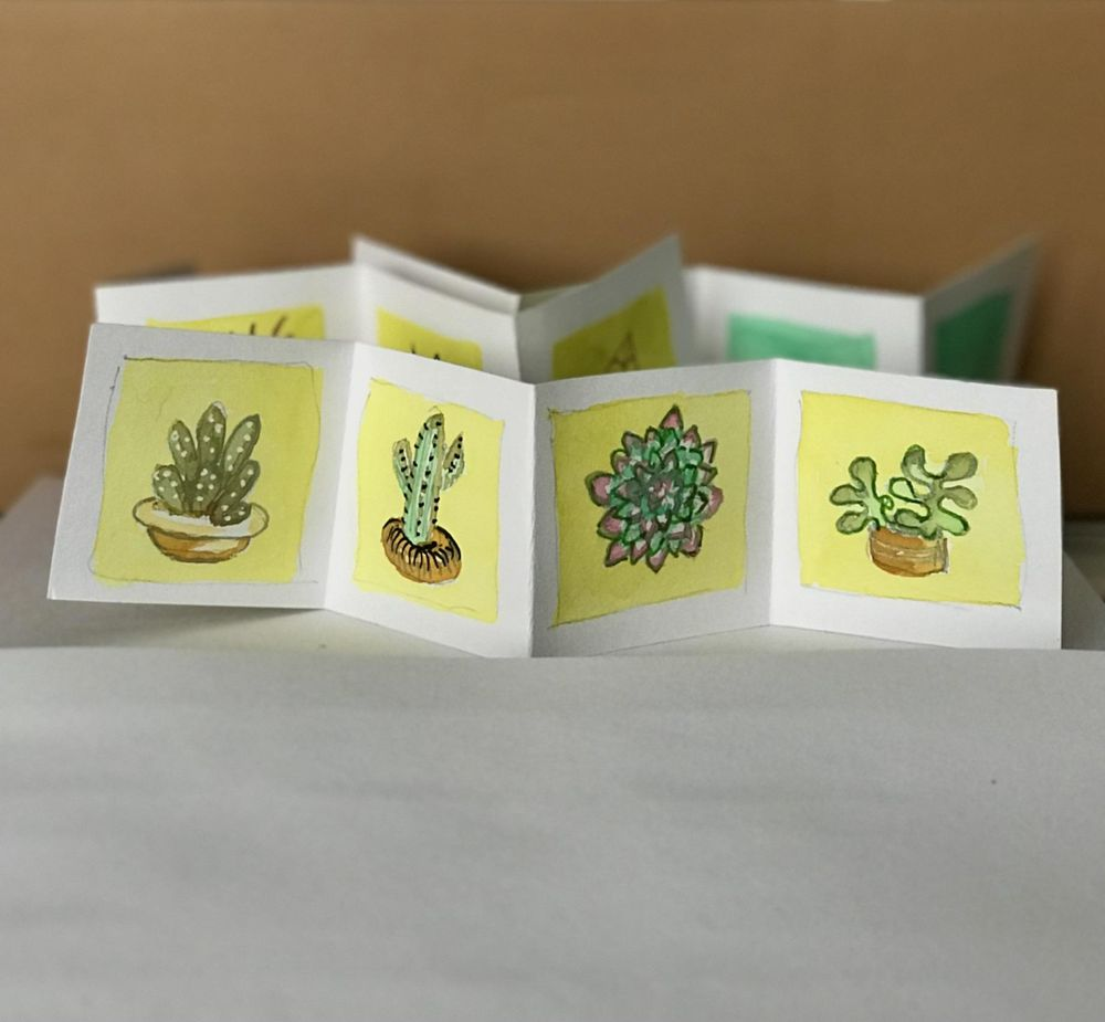 Succulents booklets - image 3 - student project