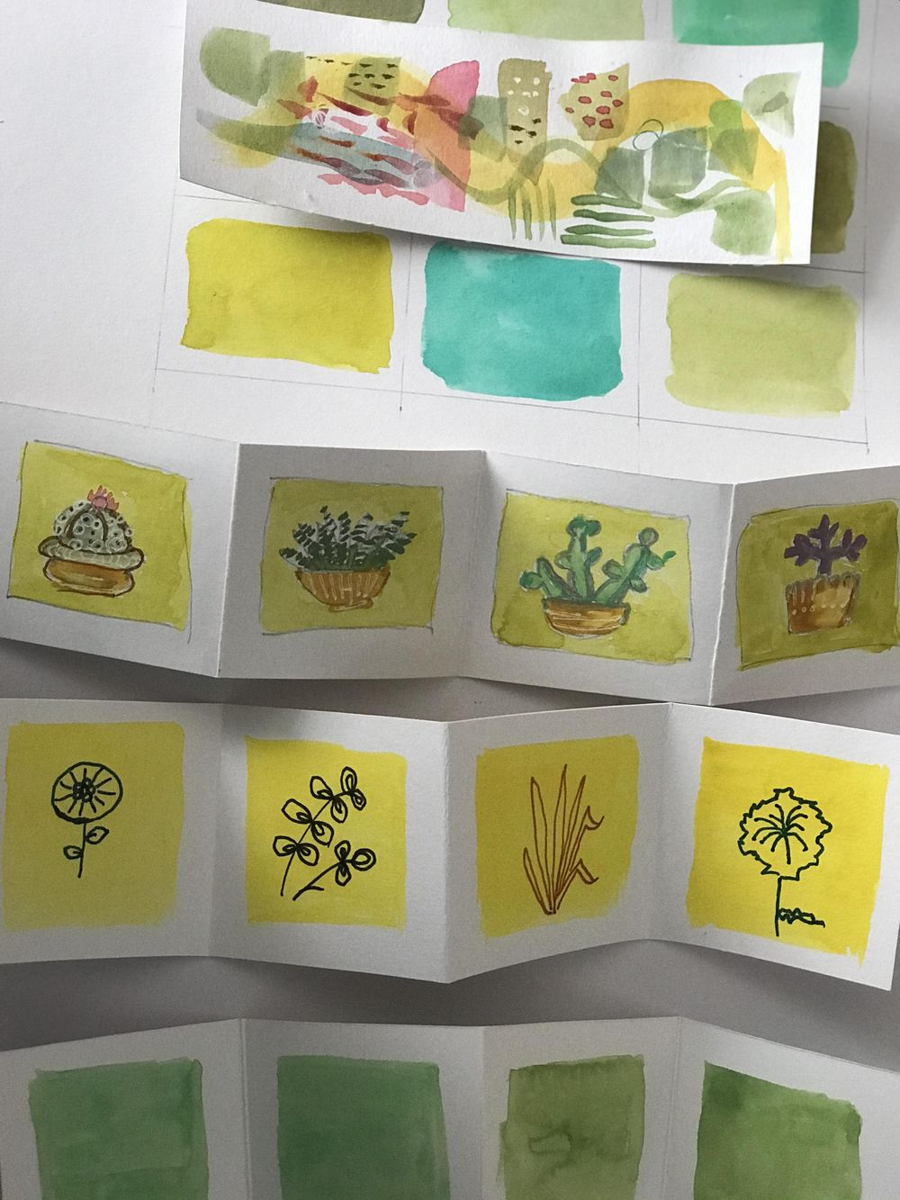 Succulents booklets - image 1 - student project