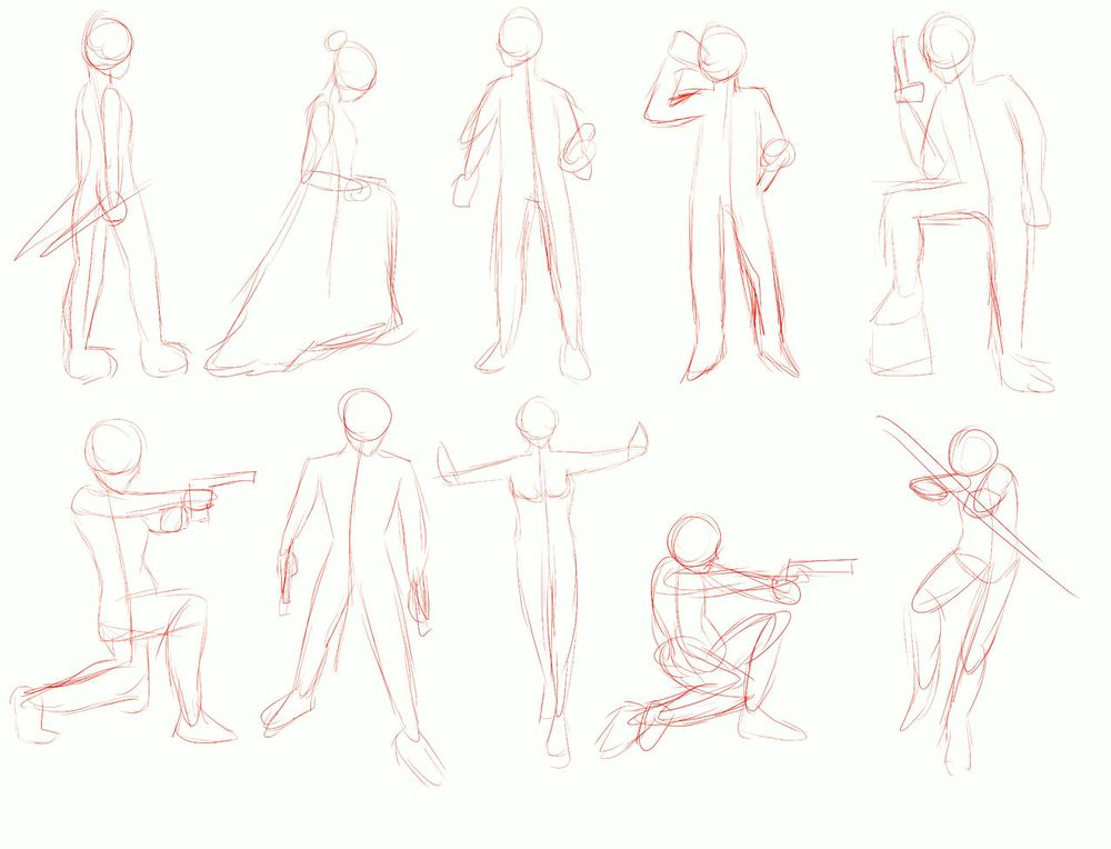 Figure Drawings - image 1 - student project