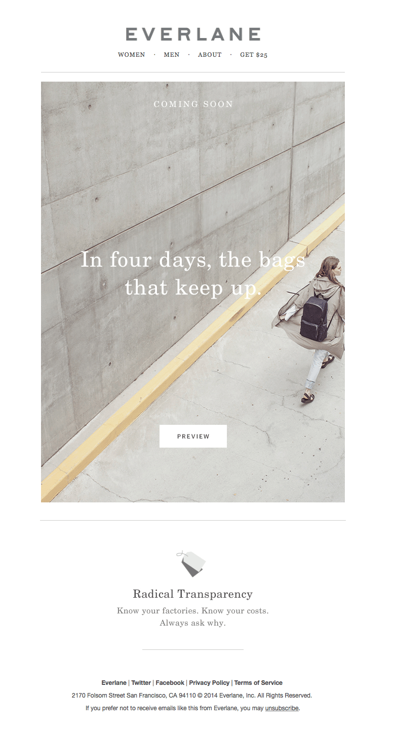 Everlane - image 1 - student project