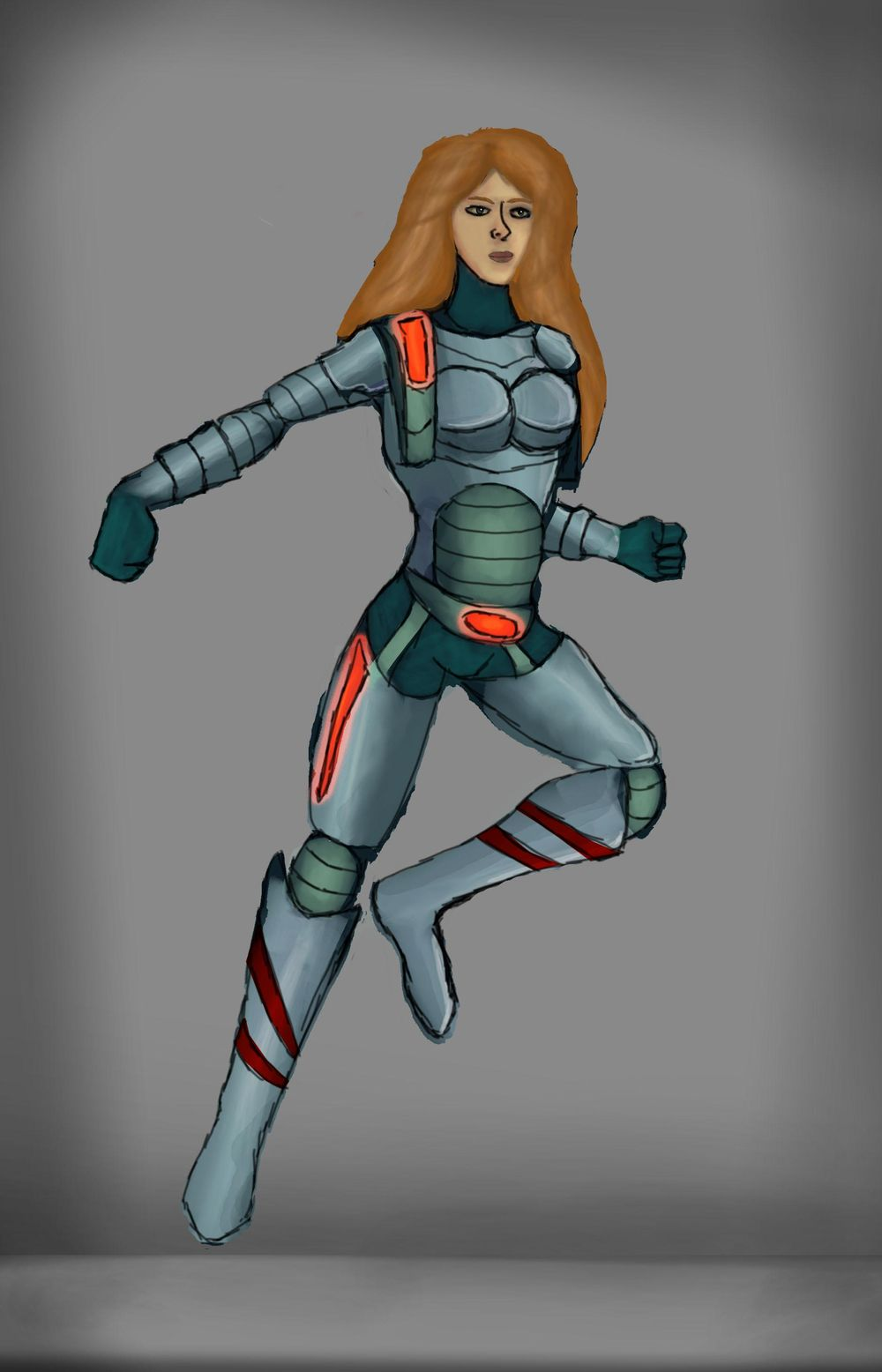 eileena space commander & Norse warrior - image 2 - student project